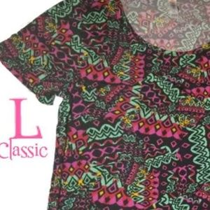 Lularoe classic tee shirt high low